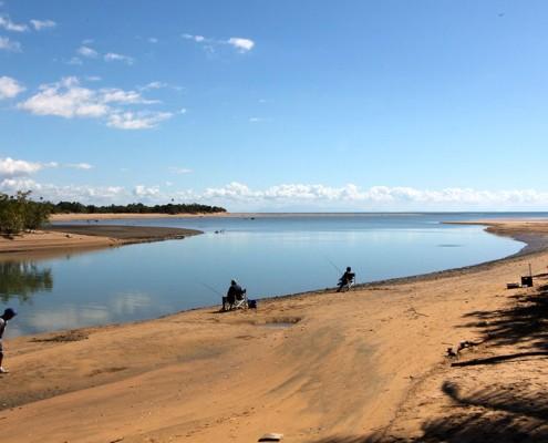 Balgal Beach-River-Mouth-Has-Great-Fishing