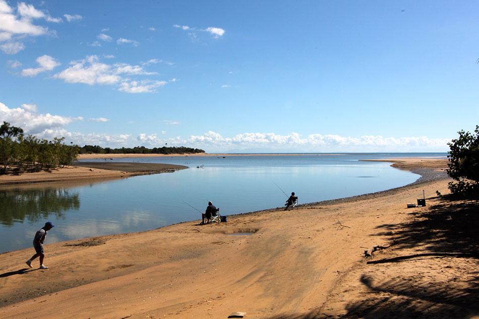 Balgal Beach River Mouth Has Great Fishing