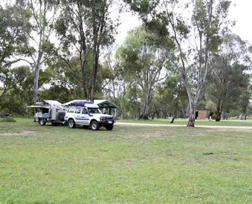 Lots of Room for Camping at Bundarra