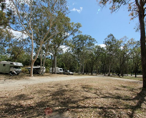 Mount Molloy Campgrounds at River Creek Rest Area