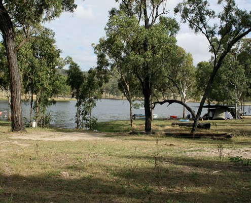 eungella-dam-dog-travel-friendly-camping-area-great-for-boaties-and-swimming